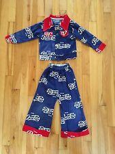 Vintage DRINK PEPSI-COLA Children's Outfit Jacket & Pants Sz 4 Yrs COLLECTIBLE