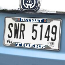 "DETROIT TIGERS License Plate Frame 6.25""x12.25"" MLB FANMATS"