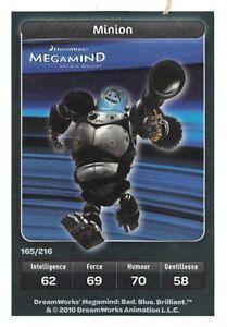 Carte Carrefour Dreamworks - Megamind - Minion - Carte spéciale - N°165