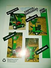 1993 IRON & OAK CHIPPER / SHREDDERS , TREE CHIPPER , MULCHER