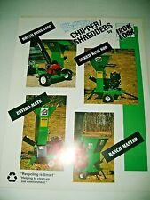 1993 IRON & OAK CHIPPER / SHREDDERS , TREE CHIPPER , MULCHER