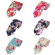 Men Floral Necktie Wedding Party Business 6CM Flowers Neckties Formal Neck Tie
