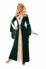 C171 Maid Marian Medieval Renaissance Halloween Fancy Dress Adult Costume