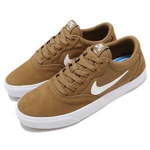 Nike SB Chron SLR Golden Beige White Men Skate Boarding Casual Shoes CD6278-200