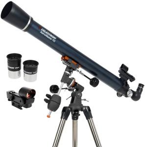 Celestron Astromaster 70EQ Astronomical Telescope Kit #21062 (UK Stock) BNIB NEW