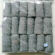 "18 Pads 3""L x 1"" Diam. Steel Wool, Cleans & Shines Great For Kitchen, House BN18"