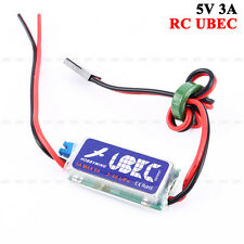 Hobbywing 3A RC UBEC 5V 6V Max 5A Lowest RF Noise BEC for RC Helicopter Drone