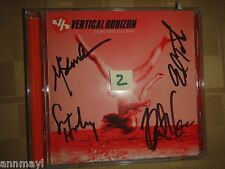 EVERYTHING YOU WANT by VERTICAL HORIZON AUTOGRAPHED / SIGNED CD new