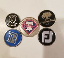 Philadelphia Phillies golf ball marker and 4 others footjoy...