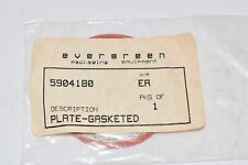 Lot of 31 NEW Evergreen 5904180 Plate Gasketed Rubber Gasket