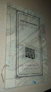 SVOLANO I PENSIERI RECITAL DI POESIE 1995 IL CERCHIO IL CARTIGLIO