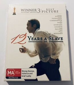 12 Years a Slave (Blu Ray) NEW & SEALED** JB Hi-Fi Exclusive MA15+ Region B Aus