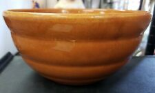 1940's Bauer Pottery Burnt Orange Ring Ware Bowl