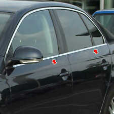 VW BORA 1998-2004 Chrome Windows Frame Trim 4Door 4Pcs S.Steel