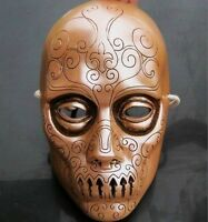 New Mens Harry Potter Death Eaters Resin Mask Cosplay Props Halloween Mask Gift