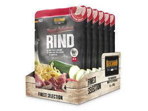 (7,97€/kg) Belcando Rind mit Spätzle & Zucchini 6 x 300 g Frischebeutel Finest S