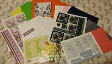 A5 CARD MAKING / CRAFT KIT (MAKES 5 x A5 CARDS) Mixed Male Female Toppers