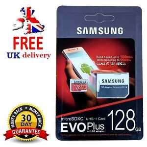 Samsung 128GB Micro SD Card SDHC EVO UHS-I Class 10 U3 Memory Card 100% GENUINE