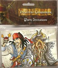 PIRATES OF THE CARIBBEAN, BIRTHDAY PARTY ITEMS ! Banner, Hat, Napkin, Invites...