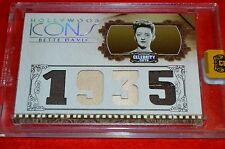 HOLLYWOOD ICONS BETTE DAVIS WORN MATERIAL CARD #16/25!!! MUST SEE!!!