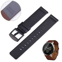 Genuine Luxury Leather Watch Band Strap For Samsung Galaxy Watch R800 46mm