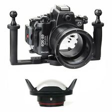 Seafrogs 40m Underwater Camera Housing for Canon 5D Mark III IV + Dome Port+Tray