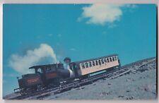 Mt Washington Cog Railway & Car PPC, Unposted, by Dick Smith, New Hampshire Loco