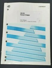 New Allen Bradley Sbx-Rio Remot I/O Adapter User'S Manual P/N: 999-083