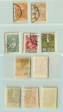 Central Lithuania 1920 SC 23-28 used. rtb3077