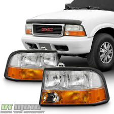1998 2004 Gmc Sonoma S 15 98 01 Jimmy Bravada W Fog Lights Headlights Headlamps Fits