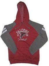 New NFL Women's Atlanta Falcons Hoody Sweatshirt Small-2XL Distressed Football