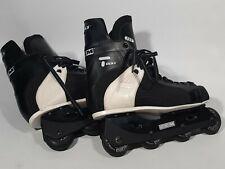 CCM Tacks 155 Inline Roller Blades Street Hockey Skates Vintage Black Size 13