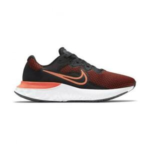 Nike Renew Run 2 scarpa sport running training black orange