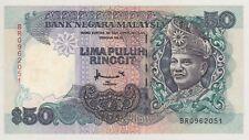 BR 0962051 FIRST PREFIX RM50 BA BANKNOTE UNC
