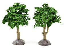 "Miniature Artificial Tree Dark Green 4"" Dollhouse Fairy Gnome Garden MI 50993"
