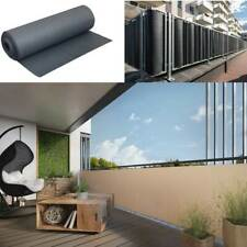 Balkonverkleidung Balkonblende Sichtschutzmatte Polyrattan Blende Meterware