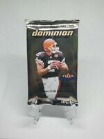 Sealed 2000 Fleer Dominion Hobby Pack BRADY Rookie card?