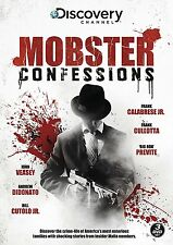 Mobster Confessions (New 3 DVD set) Veasey Cullotta Previte Calabrese Mafia