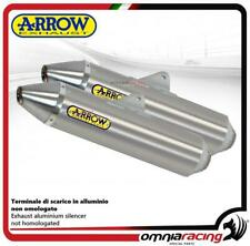 Arrow pair of exhausts Off-Road Thunder Alu not approved SWM Superdual 600 2017/