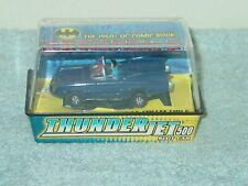 Thunderjet 500 - Batmobile Blue HO Scale Slot Car - New / Mint Condition