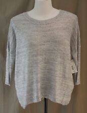 a.n.a., XL,Lightweight,  Lt Grey Spacedye, Sparkly Sweater, New with Tags