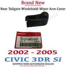 Genuine OEM Honda Civic 3dr Si tailgate Wiper Arm Cover 02-05 (76721-S6D-E01)