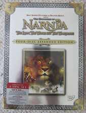 NEW - The Chronicles of Narnia - EXTENDED EDITION - 4 DVDs, 2006 - NEW