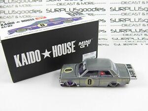 2021 Mini-GT Kaido House DATSUN 510 Pro Street OG Purple S1/02 *RAW* Chase
