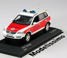 1:43 Minichamps VW Touareg Emergency Doctor 2002