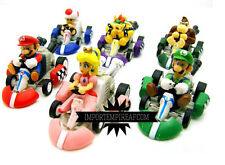 SUPER MARIO BROS. 6 KART MACCHININE PERSONAGGI FIGURE go action macchine new 8 9