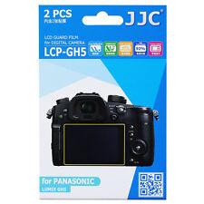 JJC 2PCS LCD Guard Film Camera Screen Protector for PANASONIC LUMIX GH5 GH5S