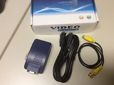 Sewell Direct Composite Video VGA to AV Converter (PC to TV)