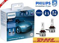 PHILIPS HB3/HB4 LED Ultinon Essential Car Headlight Bulbs 6500K White 11005UE2X2
