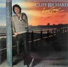 CLIFF RICHARD - LOVE SONGS - 1981 UK RELEASE - VINYL LP ALBUM